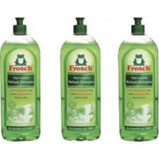 Frosch Yeşil Limonlu  Elde Bulaşık Deterjanı 750 ml vx 3 Adet