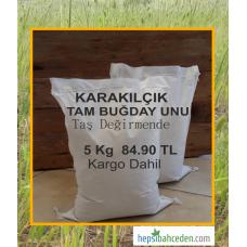 Karakılçık Tam Buğday Unu 5 Kg - Kargo Dahil