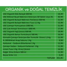 Organik ve Doğal Temizlik Paketi